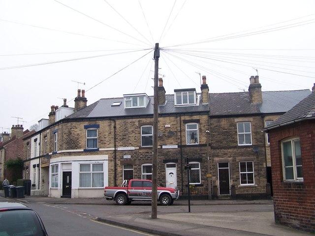 Hawthorn Road and Hunter Road, Hillsborough, Sheffield