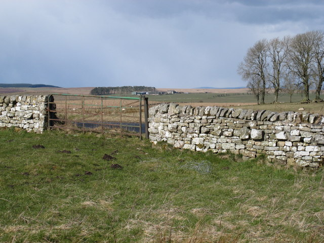 Gate near Brocolitia Roman Fort
