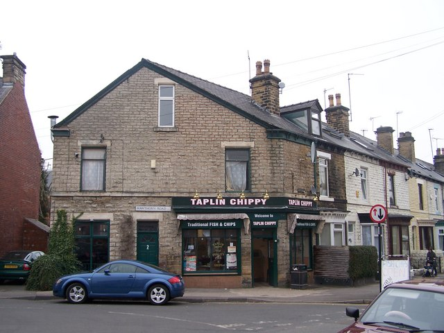 Taplin Chippy, Taplin Road Hillsborough, Sheffield
