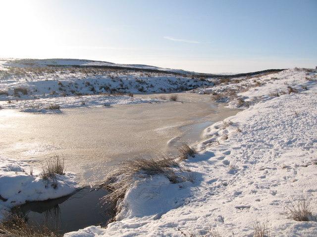 Frozen lough near Crawberry Hill (5)