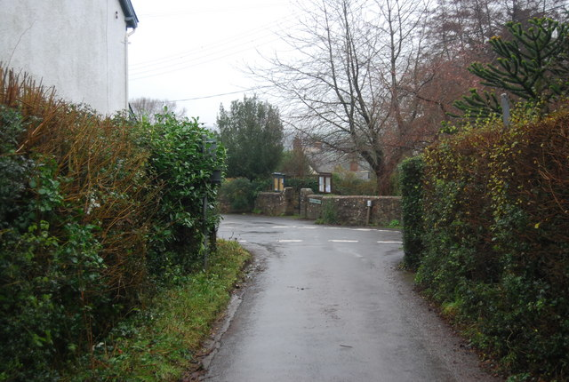 The end of Hill Lane