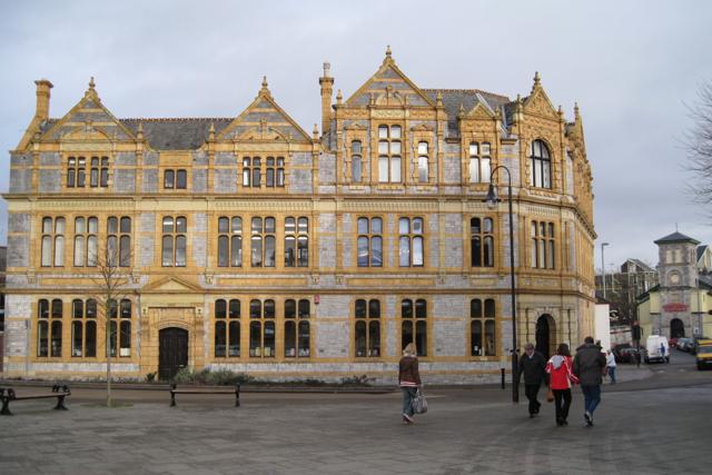 Newton Abbot public library