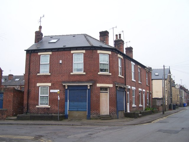 Haden Street and Taplin Road Junction, Hillsborough, Sheffield