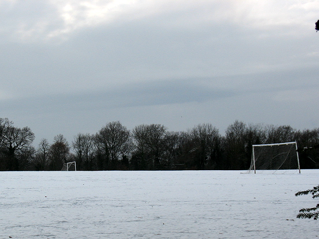 Football pitch at Elmstead Sports & Country Club