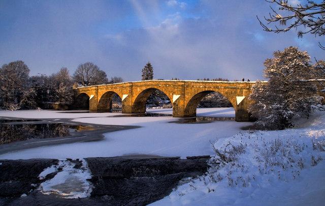 Chollerford Bridge