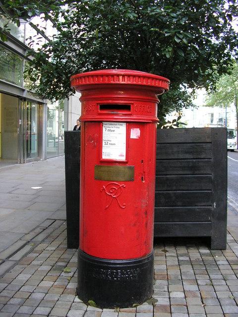 Victorian Pillar Box, Corporation Street, Manchester