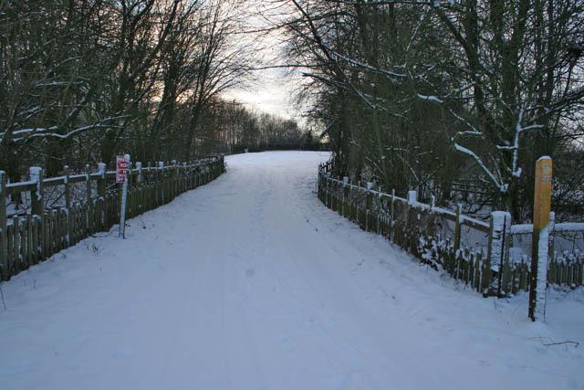 Entrance to Bottom Farm