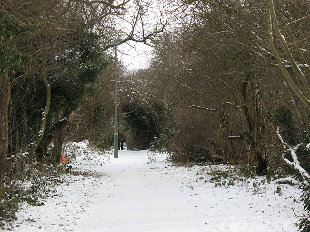 Footpath from Elmstead to Chislehurst