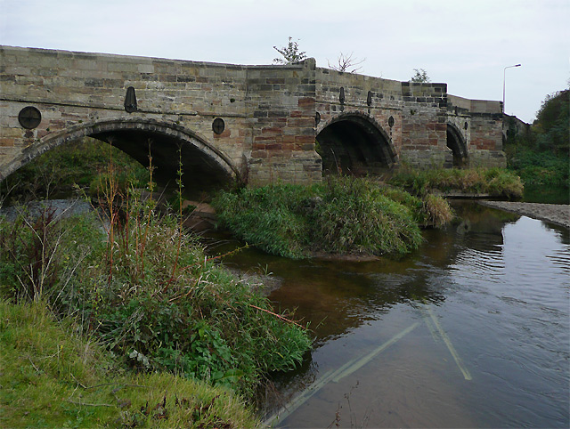 Bridge over the River Dove, near Burton-on-Trent