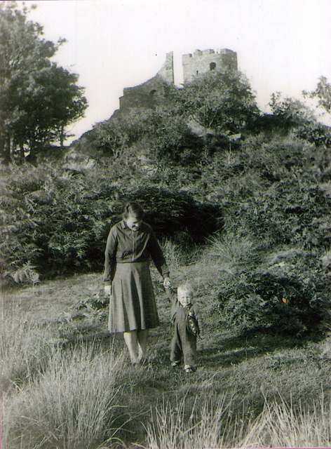 Tower at Llanfrothen 1955