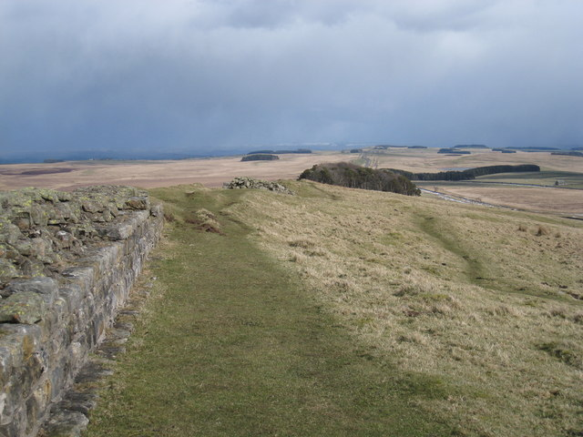 Milecastle 35 - view east