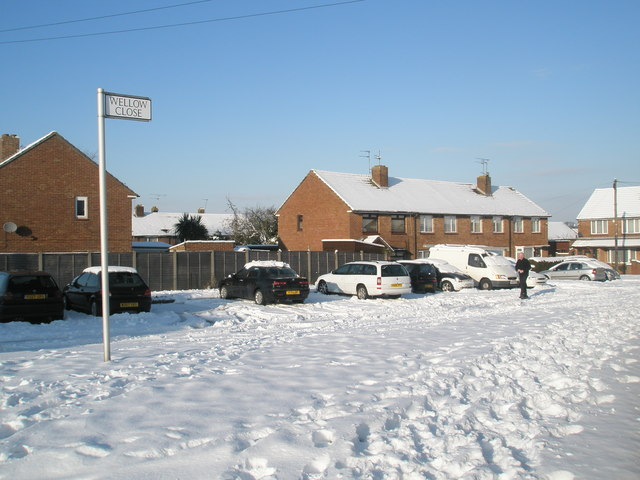 A snowy Wellow Close