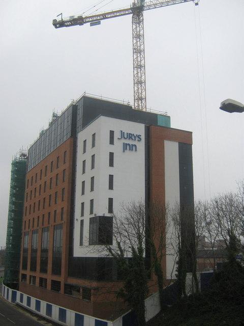 Jurys Inn Hotel, King Street in Derby