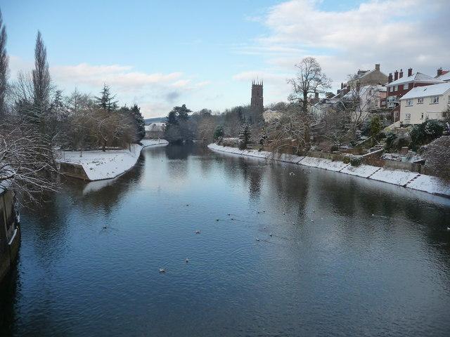 Tiverton : The River Exe