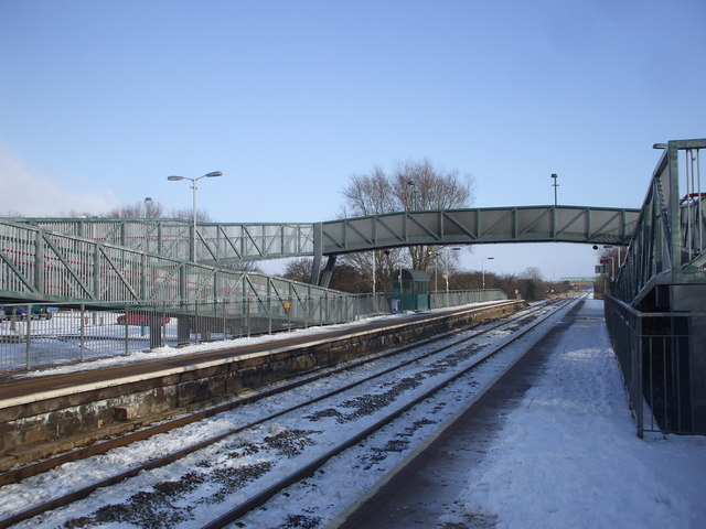 Worle Parkway station
