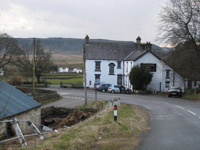 Langdon Beck Hotel (view SW)