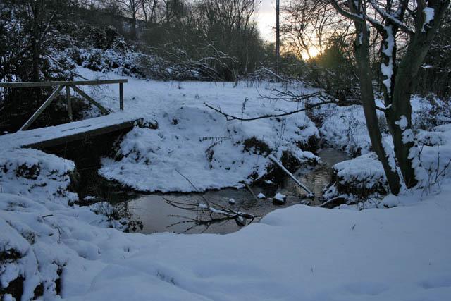The meandering River Devon
