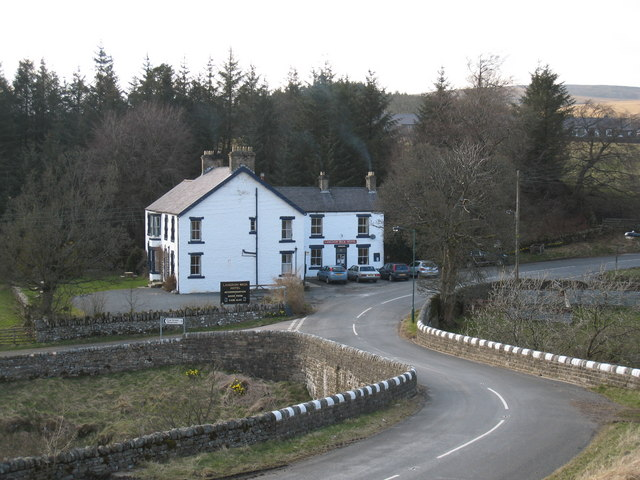 Langdon Beck Hotel (view NW)