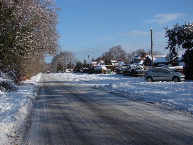 Shaftesbury road, Bisley