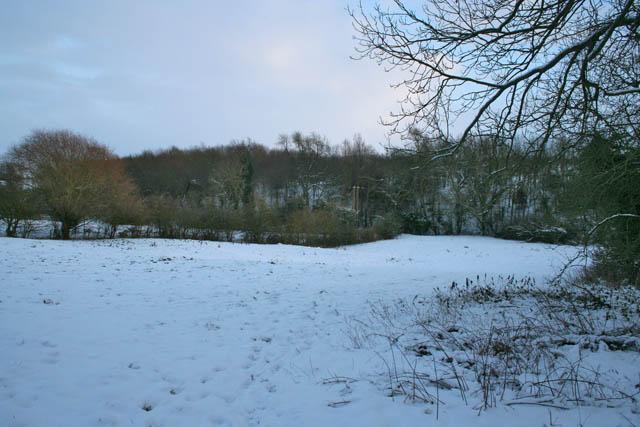 View across the River Devon valley