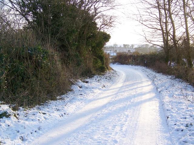 Lane, Bishopstone