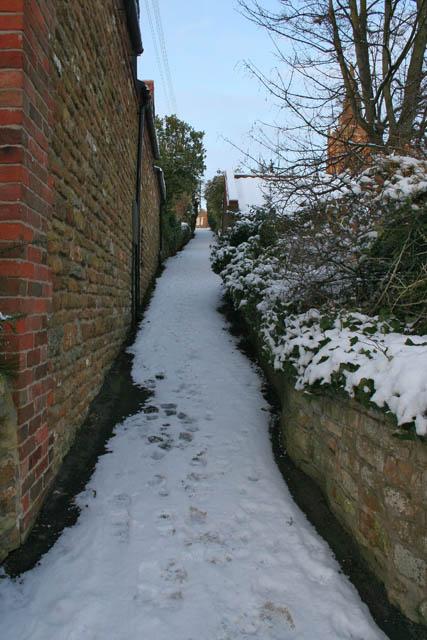 Church Walk, Eaton