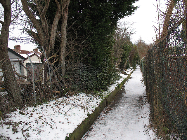 Footpath off Green Lane, Chislehurst