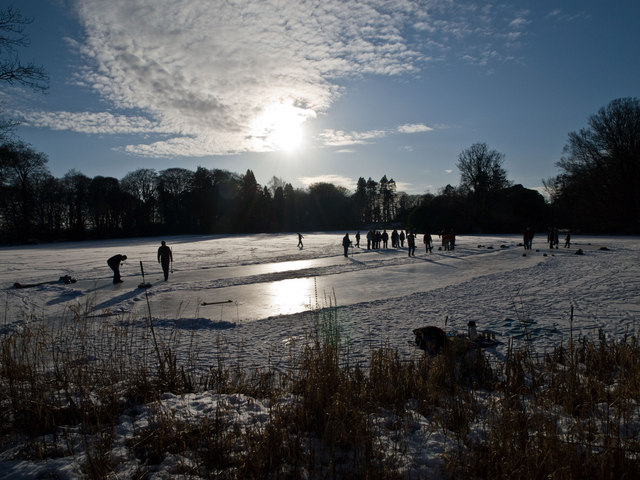 Curling at Craighlaw