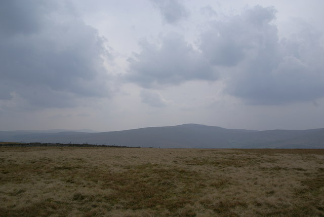 The top of Aye Gill Pike