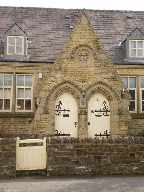 Former School, Gargrave, Doorway