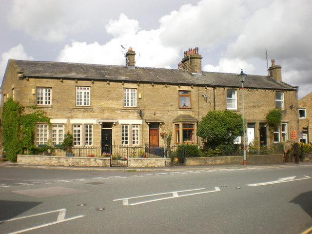 Terrace of houses on Skipton Road, Gargrave