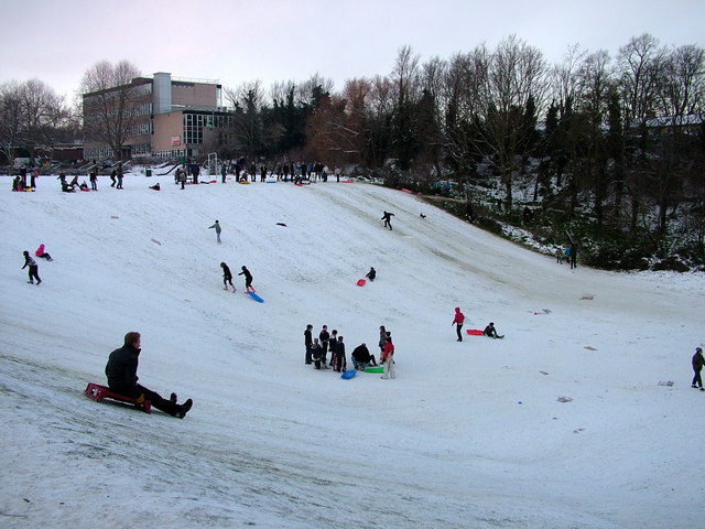 Sledging at St. Peter's Pit