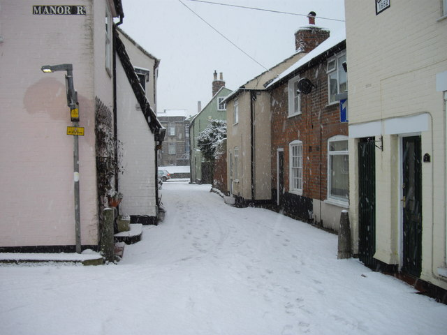 Snowbound Hospital Lane Colchester