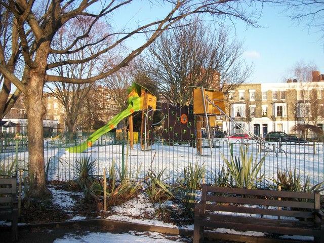 Playground in Westfield Park Chelsea