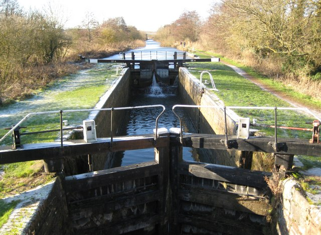 Kennet and Avon Canal: Guyer's Lock
