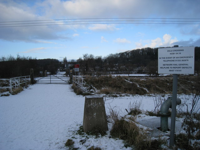 Zulu Crossing and trig point
