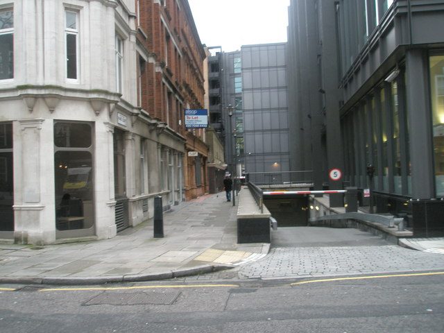 Looking from Bedford Row into Hand Court