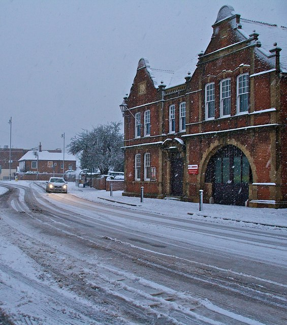 Emsworth Museum in the snow