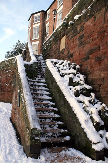 Recorder's Steps, Chester