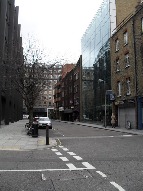 Looking from Sandland street into Red Lion Street