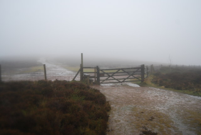 Gate & stile on the Macmillan Way West