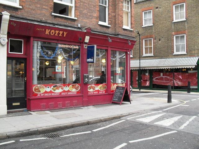 Café Kozzy in Red Lion Street