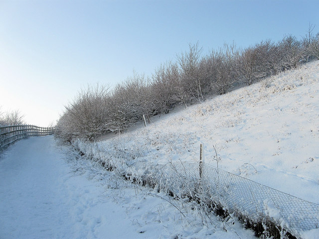Footpath, Benfield Hill