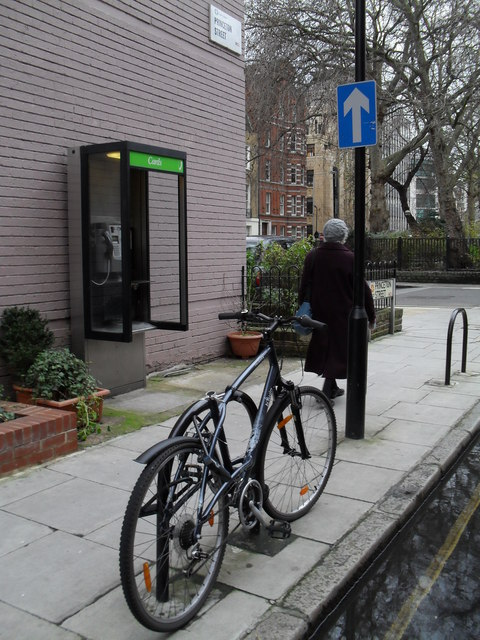 Phonebox in Princeton Street