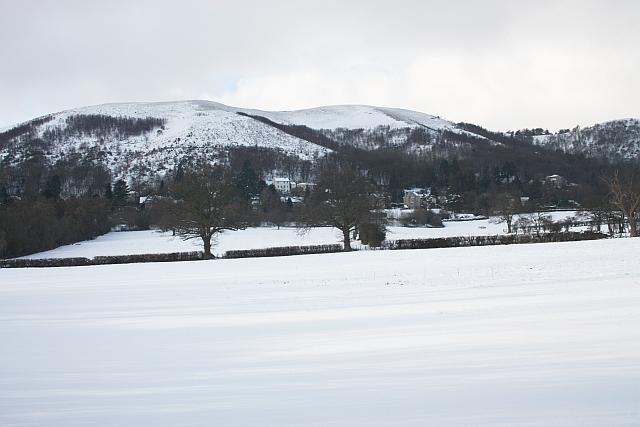 Malvern Wells in the snow