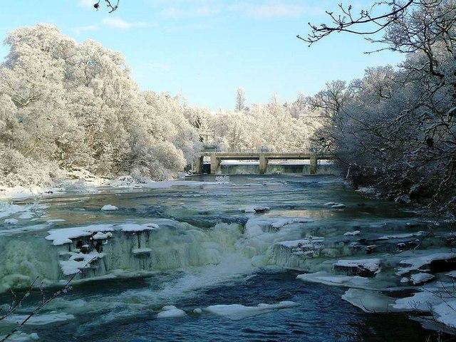 A frosty Bonnington Linn