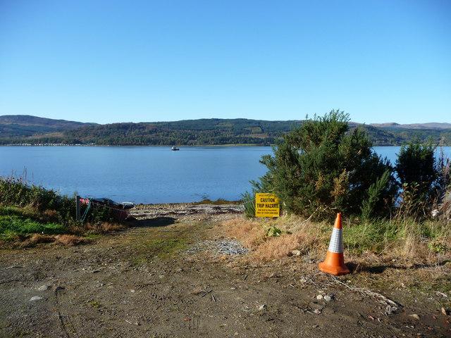 Slip at Loch Fyne Noise Range