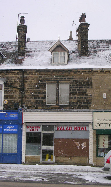Mawson Salad Bowl - Bradford Road - in a snowstorm!