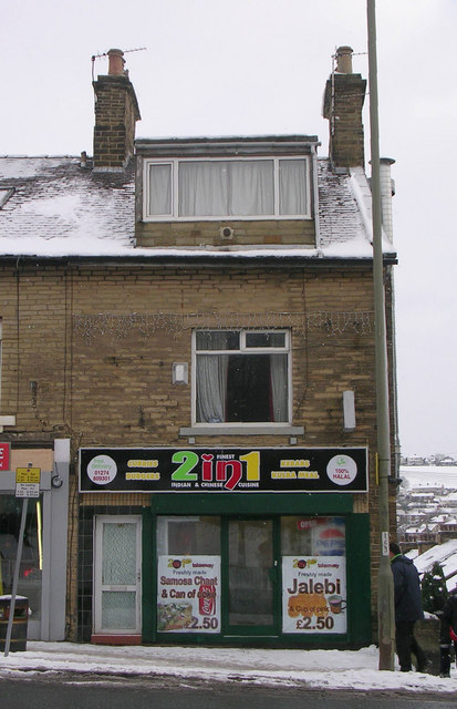 2 in 1 (Indian & Chinese) Takeaway - Bradford Road