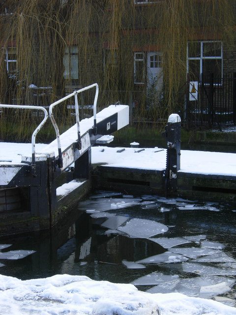 City Road Lock, Regent's Canal